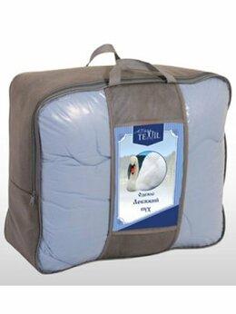 "Одеяла - Одеяло ""Лебяжий пух"" 1,5 сп, 300 г/м2, сатин/тик…, 0"