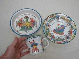 Посуда - Набор посуды для ребенка Tiffany, новый 3 предмета, 0