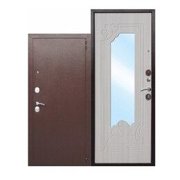 Входные двери - Входная металлическая дверь с зеркалом Ампир Венге, 0
