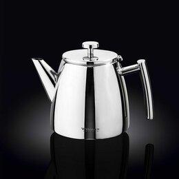 Заварочные чайники - Чайник  600 мл. заварочный, нерж Wilmax /1/12/ N, 0