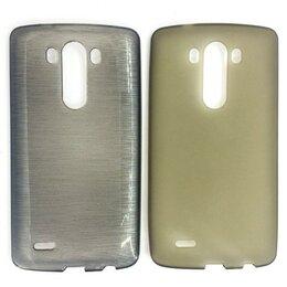 Чехлы - Силиконовый чехол для LG G3 (серый), 0