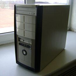 Настольные компьютеры - Системный блок на базе Intel G31, 4Гб ОЗУ, 120Гб SSD, 0