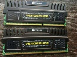 Модули памяти - Corsair Vengeance Black 8GB Kit 2x4GB 1866MHz DDR3, 0