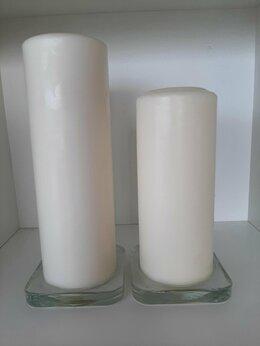 Декоративные свечи - Свеча формованная неароматическая ИКЕА (2 шт.), 0