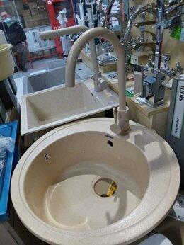 Кухонные мойки - Мойка кухонная каменная круглая, 0
