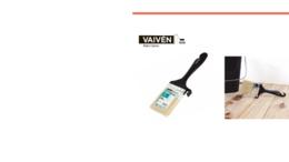 Канцелярские принадлежности - Кисть флейцевая Vaiven Cheap & Chic 75мм, 0
