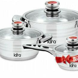 Наборы посуды для готовки - 🆕️ Набор посуды (1.6л. 2.3 л. 4.2 л.) Adagio, 0
