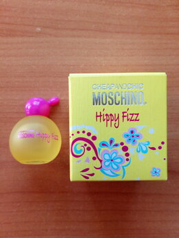 Парфюмерия - Hippy Fizz Moschino 4,9мл женская туалетная вода, 0