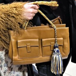 Сумки - 🔴 Trussardi Италия сумка с плечевым ремнем, 0