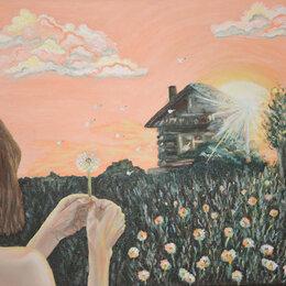 """Картины, постеры, гобелены, панно - Картина маслом на холсте """"Молитва"""", 0"""
