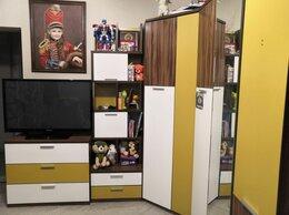 Шкафы, стенки, гарнитуры - Стенка модульная для детской комнаты , 0