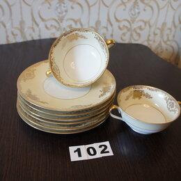 Кружки, блюдца и пары - Бульонница с блюдцем Фарфор . noritake china J, 0