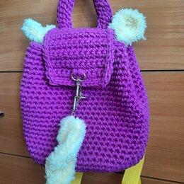 Рюкзаки, ранцы, сумки - Рюкзак из трикотажной ленты, 0