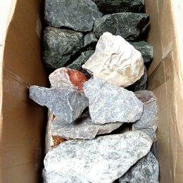 Камни для печей - Камни Микс (дунит, кварцит, талькохлорит) , 0