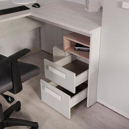 Столы и столики - Румика Пинк С2 стол угловой для школьника, 0