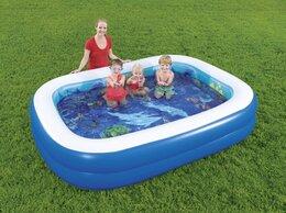 Бассейны - Детский надувной бассейн 262х175х51 3D новый, 0