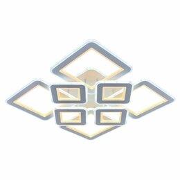 Люстры и потолочные светильники - Яркая смарт люстра светодиодная с пультом ду (140), 0
