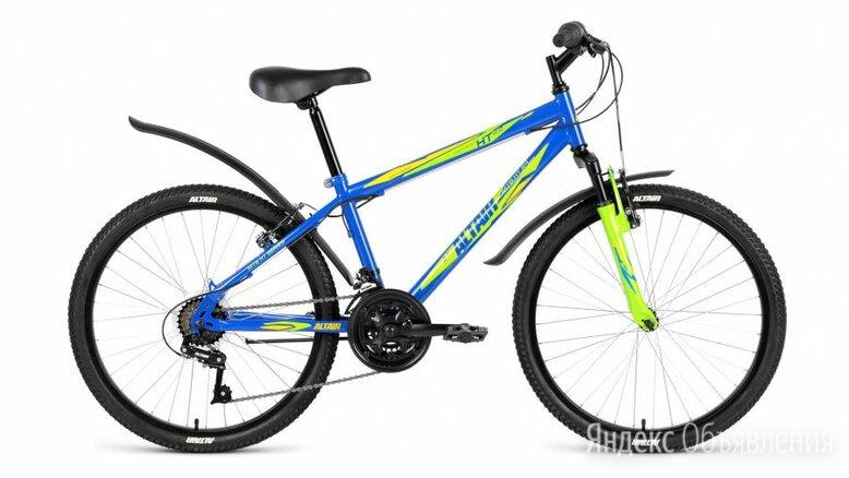 """Подростковый горный (MTB) велосипед MTB HT 24 2.0 синий 14"""" рама по цене 14457₽ - Велосипеды, фото 0"""