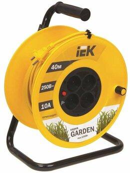 Наборы электроинструмента - Удлинитель на катушке 4х40м без заземл. 10А IP20…, 0