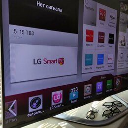 "Телевизоры - 55"" Smart TV LG 55LA860Z 3D 800Гц Magic Пульт Wifi 5Гц, 0"