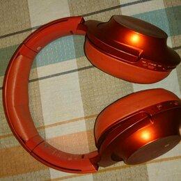 Наушники и Bluetooth-гарнитуры - Sony MDR-100ABN блютуз, с активным шумоподавлением, 0