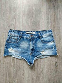 Шорты - Женские джинсовые шорты Zara, p.38, 0