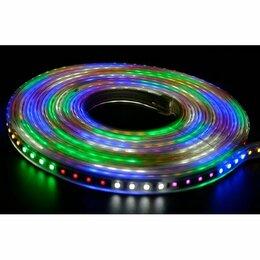 Интерьерная подсветка - Гибкая уличная LED лента с контроллером, 5 м, мульти, 0