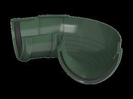 Кровля и водосток - ТН ПВХ угол желоба 90°, зеленый, шт., 0