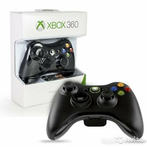 Джостик на xbox 360 и компьютер по цене 2300₽ - Игровые приставки, фото 0