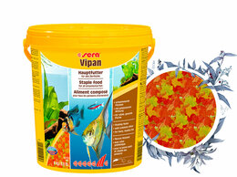 Корма  - Sera Vipan Large Flakes 21 л, 0