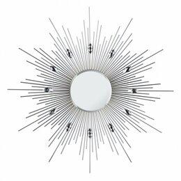 Зеркала - Зеркало-солнце металлическое с акриловыми…, 0