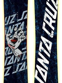 Сноуборды - Сноуборд Santa Cruz, SCJ Grey Hand, 0