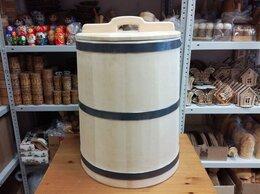 Бочки, кадки, жбаны - Кадка кедровая для засолки 60 литров, 0