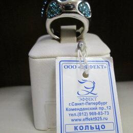 Кольца и перстни - Кольцо серебро - циркон., 0