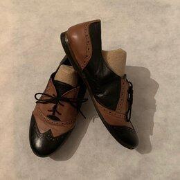 Туфли - Туфли женские натуральная кожа оксфорды (кожа), 0