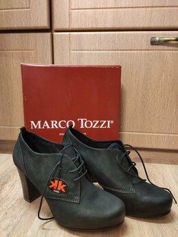 Ботильоны - Новые кожаные туфли (ботильоны), 39р, 0