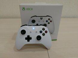 Рули, джойстики, геймпады - Геймпад Microsoft Xbox ONE Crete v3 белый оригинал, 0