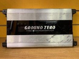 Усилители и ресиверы - Автомобильный усилитель  GROUND ZERO Gtza1.1200dx, 0