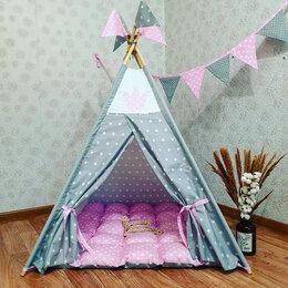 Игровые домики и палатки - Детский вигвам для принцессы палатка домик, 0