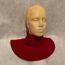 Шарфы и платки - Снуд женский шарф (красный) воротник хомут труба, 0