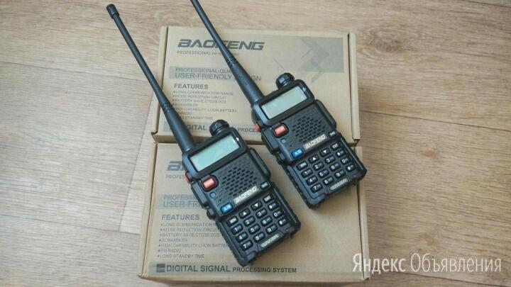 Радиостанция рация BAOFENG UV-5R по цене 1500₽ - Рации, фото 0