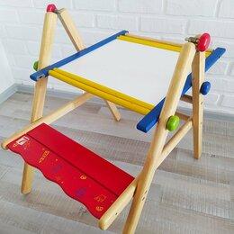 Доски - Im Toy Парта-доска для со скамеечкой трансформер, 0