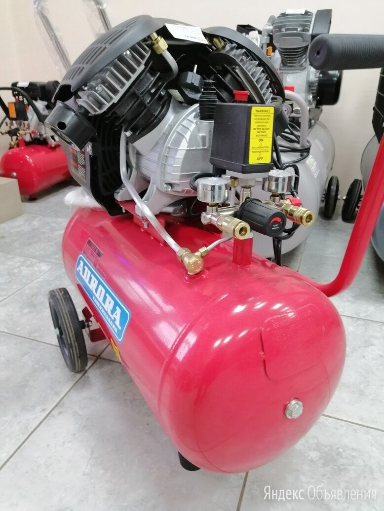 Самый мощный компрессор в коаксиальной линейке Aurora GALE50 по цене 29400₽ - Воздушные компрессоры, фото 0