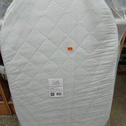 Матрасы и наматрасники - матрас овальный с кокосом 125*75 см в детскую кругло-овальную кроватку, 0