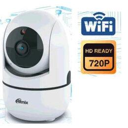 Камеры видеонаблюдения - Поворотная Wi-Fi видеокамера Ritmix IPC-110, 0