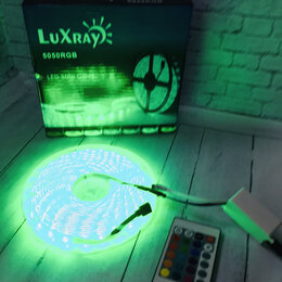 Интерьерная подсветка - Светодиодная лента с пультом, диод 5050, 60 диодов на метр, RGB60-2, 0