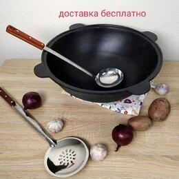 Казаны, тажины - Казан чугунный толстостенный, 0