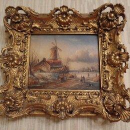 Картины, постеры, гобелены, панно - Картина  Ветряные мельницы, 0