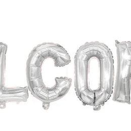 Воздушные шары - Надпись из шаров Welcome, 0