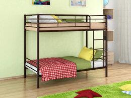 Кровати - Металлическая двухъярусная кровать Севилья-3, 0